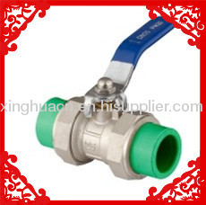 2013 hot sale PPR Double Union Ball Valve 20-63mm