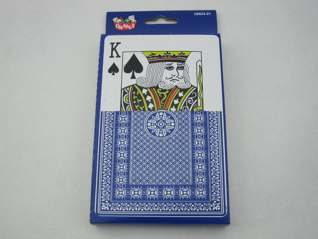 jumbo playing cards in paper box
