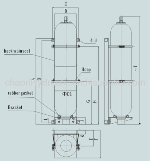 bladder accumulator installation accessories