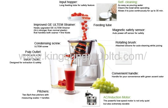 slow juicer maker 150W