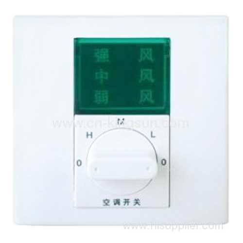 WSK-6-86 style for 3 speed rotary fan switch