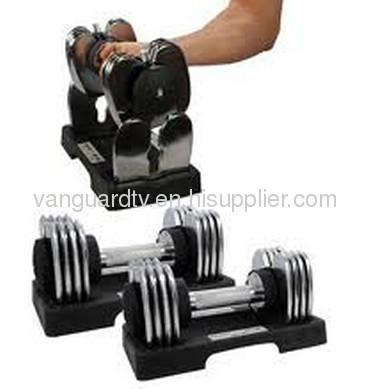 Adjustable Dumbbell / Stamina 5-25lb. Versa-Bell Adjustable Dumbbell