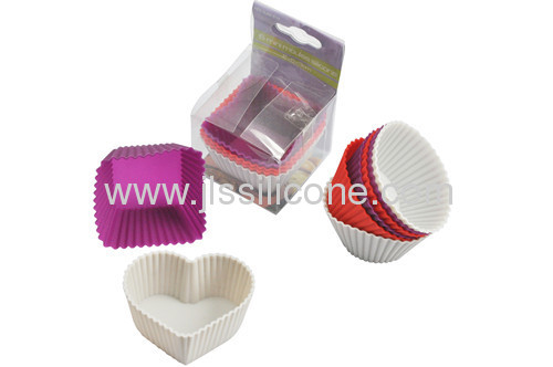 Square silicone bakeware baking mold