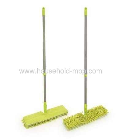 2 in 1 Mop Microfiber and Chenille Double-Sided Cleaning mop