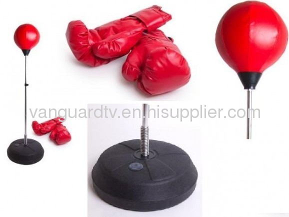 BOXING BALL/BOXING BALL STAND & GLOVES SET