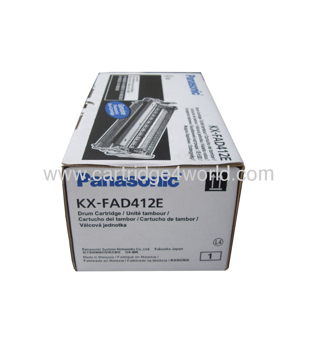 High quality Energy saving Durable Recycling toner cartridges Panasonic KX-FAD412E