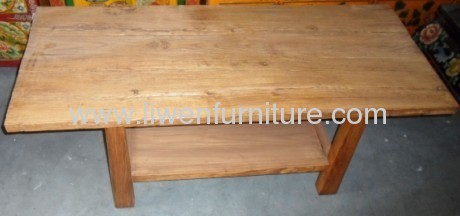 old elm wood cofee table