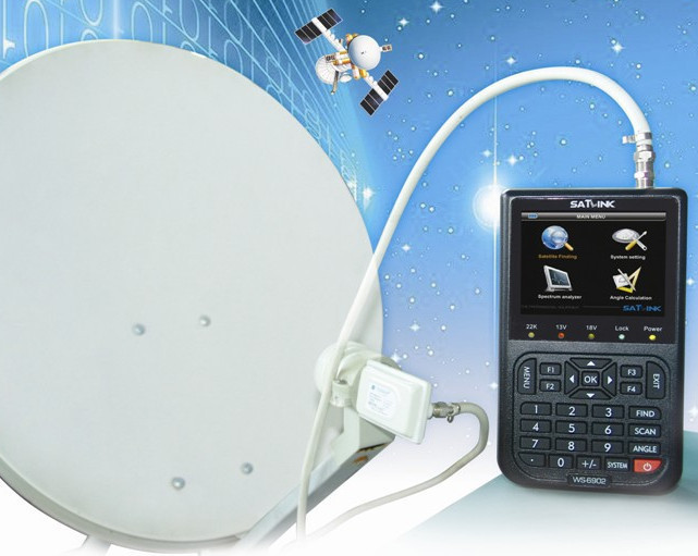 DVB-S FTA Data Satellite Signal Finder Meter from China