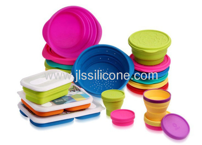 OEM Collapsible silicone strainersnoodle strainers