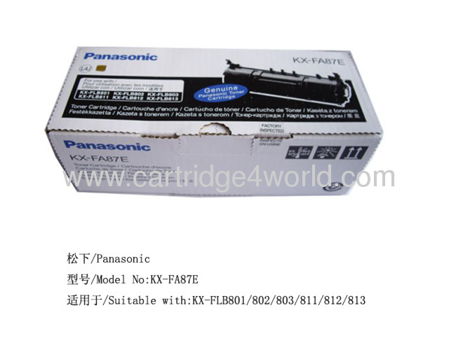 New sealed bag no box KX-FA84 KX-FA83 GENUINE PANASONIC DRUM UNIT /& 2 TONERS