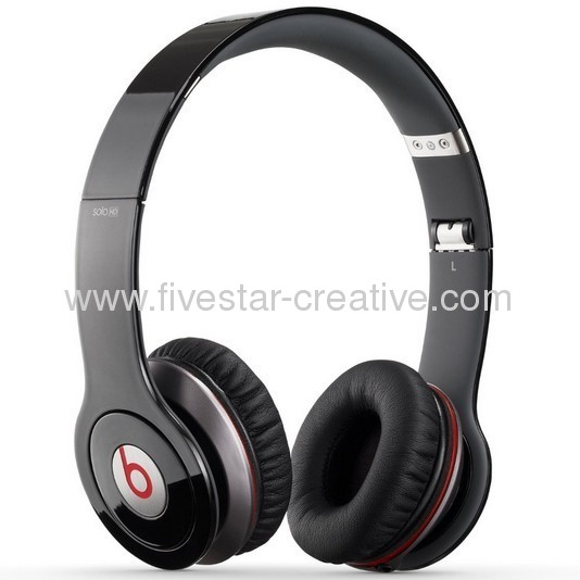 Monster Beats by Dr.Dre Solo On-Ear Headphones with ControlTalk Black
