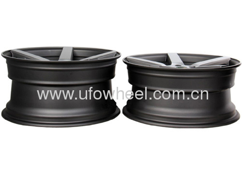 STAGGERED ALLOY WHEEL NEW DESIGN