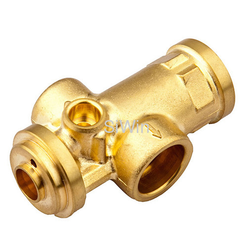 Brass quick connect air fittings pipe fitting