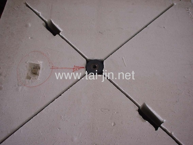 Titanium IrO2-Ta2O5coated leaf anode for cathodic protection