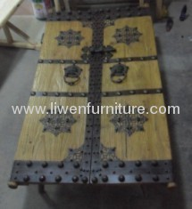 Chinese antique iron doors