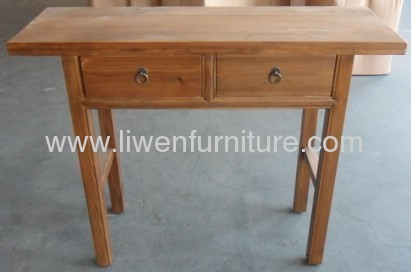 Antique altar table 2 drawers
