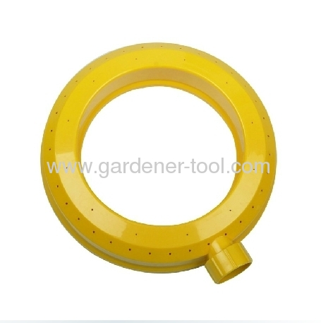 Plastic Ring Sprinkler With Gentle rain-like application of water
