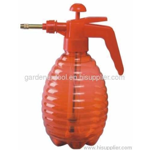 1500ML water trigger sprayer with transparent PE bottle and PP Trigger