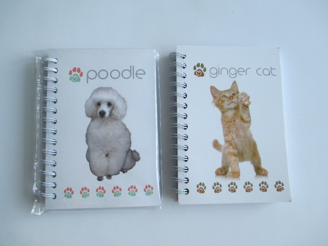 Subjects notebooks with dogs cover