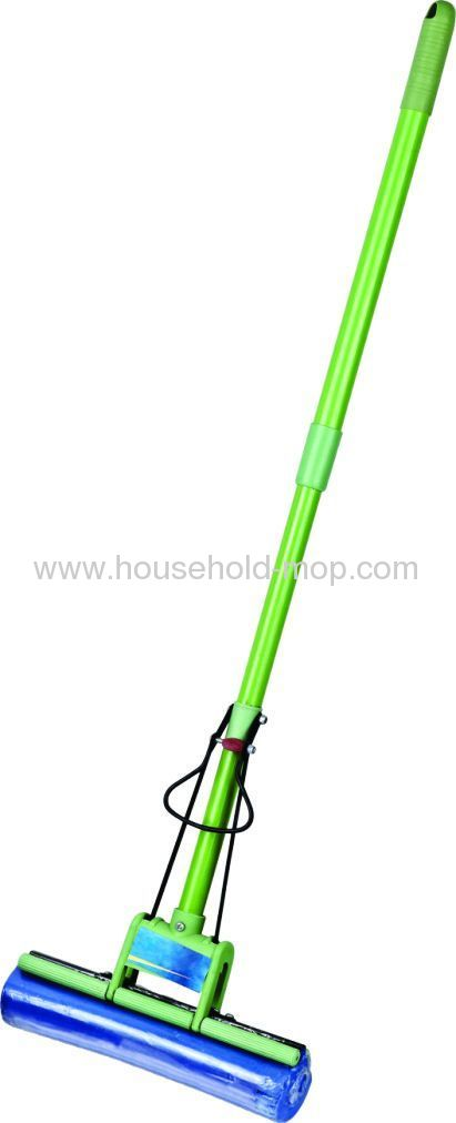 PVA mop with the telescopic stainless steel