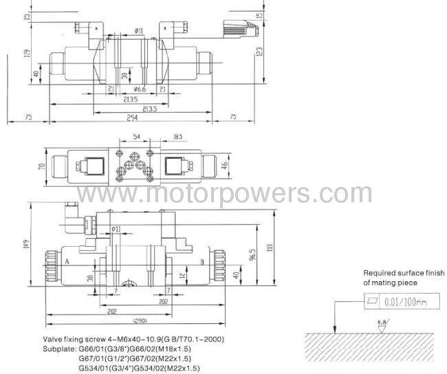 Hydraulic directional control valve