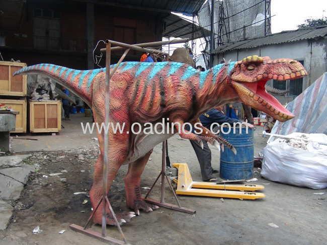 BBC walking with dinosaur costume(hide legs)