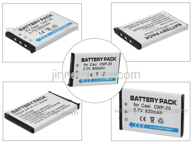 Brand new battery for Casio CNP-20 NP20 camera battery 3.7V 750mAh