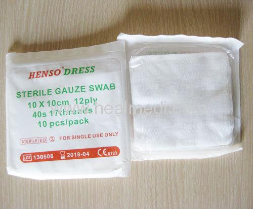 High absorbency Sterile Gauze Swab