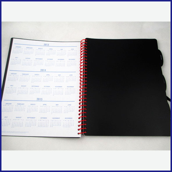 Daily Planner Notebook with PP cover