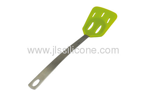 Slotted silicone shovel for kitchen tools