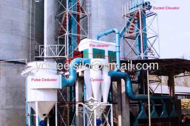 Steel Farm Silo for Grain