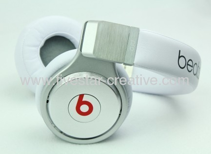 2013 New Beats Package Noise Cancelling Beats Pro Strong Bass Sound Headphones White