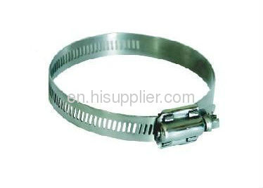 steel American type hose clamp