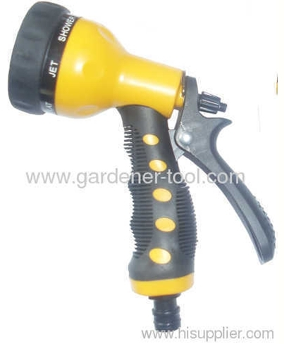Retractable Garden Hose Pipe With Plastic Garden Spray Nozzle