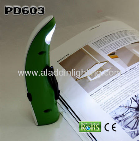 Dynamo powered USB LED table lamp with LED torch