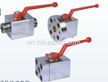 flanged type ball valve