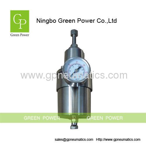 SS316 High pressure filter regulator