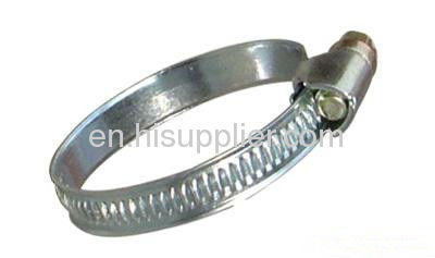 Zinc-plated Steel greman Style Hose Clamp