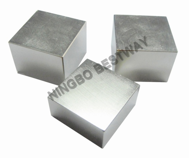 N45 grade Ni coating L50x50*x25mm Block NdFeBMagnets