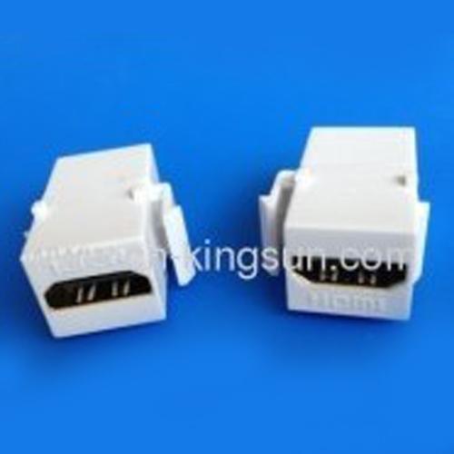 HDMI Keystone Jack coupler