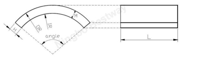 N42R40 x r20x8 x 22.5mm Arc MagnetNiCuNi