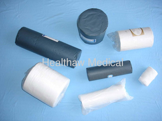 High absorbent Cotton Wool Roll