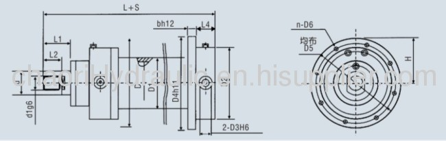 hydaulic jack for metallurgical equipment