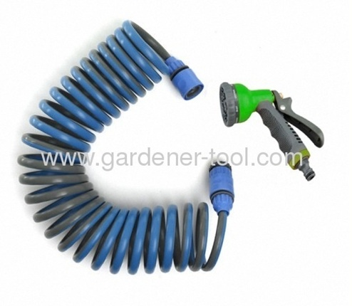 15M Garden Water Hose With Double ColorAsGarden Retractable Hose.