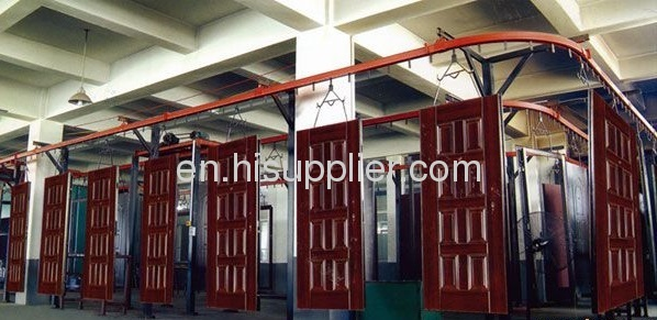 Security Door Spray Coating Line