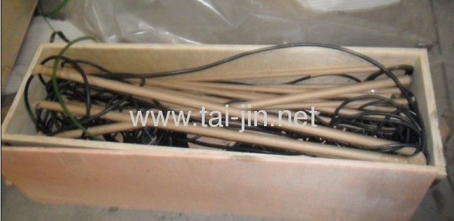 Titanium tubular connect with cable for imperssed current cathodic protection