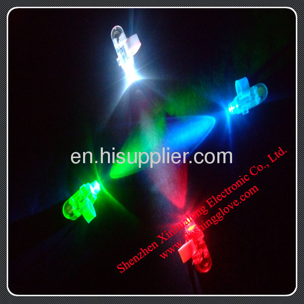 LED Finger Light Shining Your Hand in Party