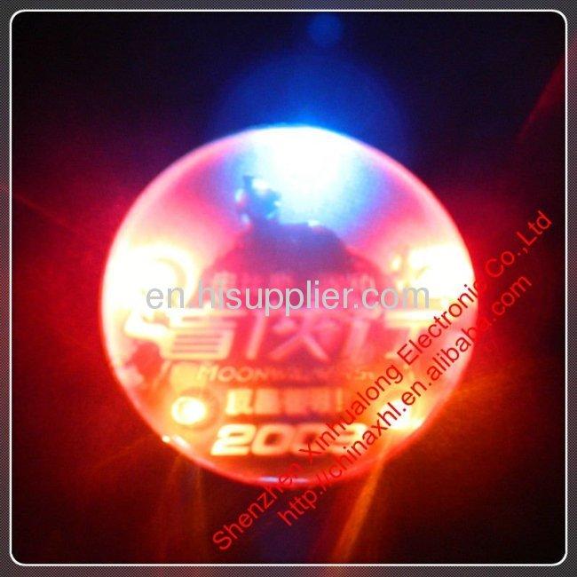 LED Flashing Pin as Party Gift