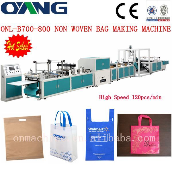 The new model automatic non woven bag making machine price