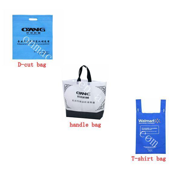 2013 New Model Non woven fabric bag making machine price